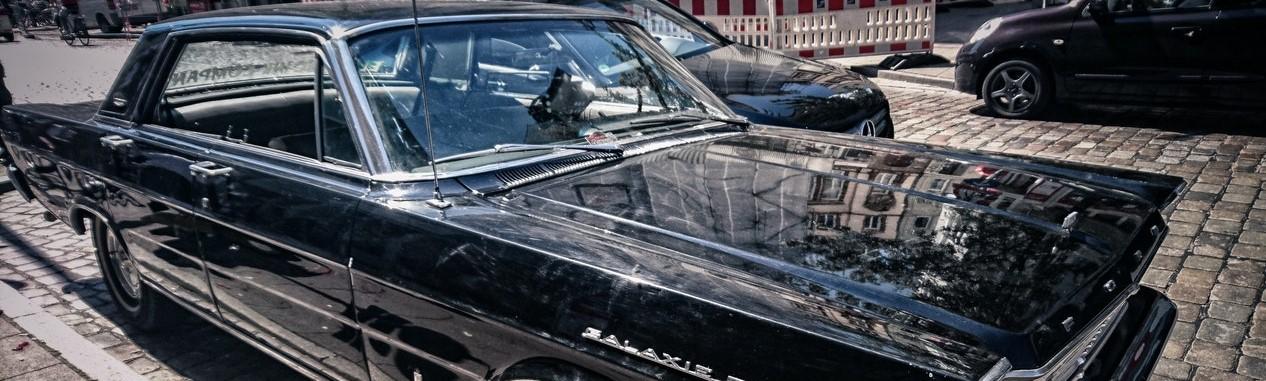 Black Oldtimer Sedan   Breast Cancer Car Donations
