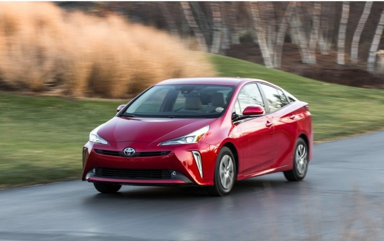 Red Toyota Prius 2021 | Breast Cancer Car Donations